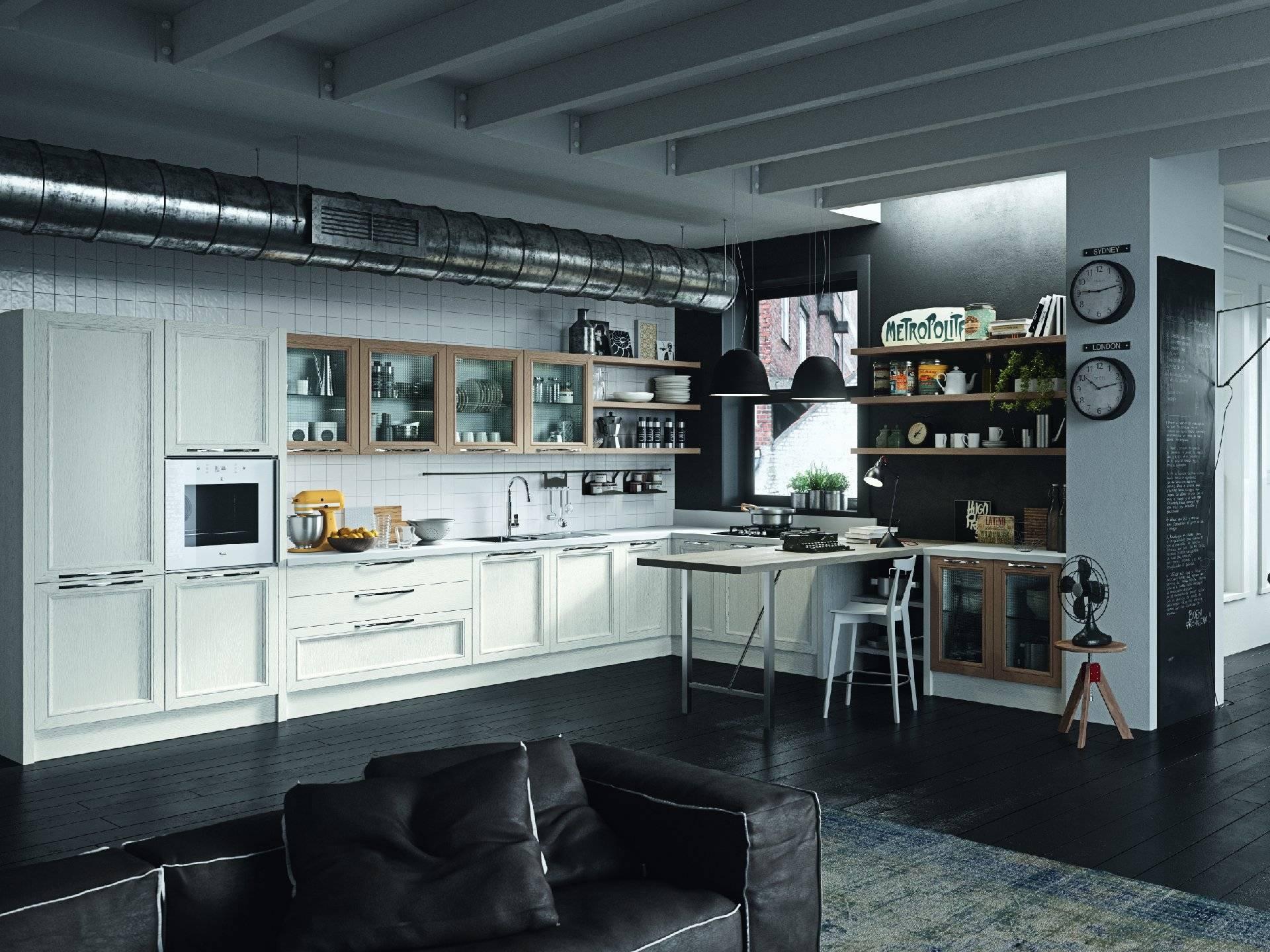 La tua casa in stile industrial centro negri arredamento for Arredamento negri